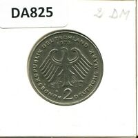2 DM 1973 F BRD Theodor Heuss Deutschland Germany #DA825DW