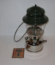 Vintage 1961 Coleman Lantern no 236 With Chrome Base