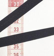 Black Woven Lingerie Elastic -Corset Garter Strap Bra Trim 12mm 2m White Also Av