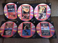 Time Life - Vita Selvatica - Job Lot Lotto 6 X Laserdisc Ld - como Nuovi