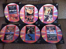 Time Life-Fauna Salvaje-Job Lot Lote 6 x Laserdisc LD-COMO NUEVOS!!!