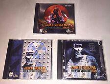 DUKE NUKEM Kill-A-Ton Collection 3D Realms PC Game Disc 1-3 Set Lot of 3