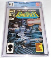 Punisher Limited Series #1 CGC Universal Grade Comic 9.6 Jigsaw Appearance Comic