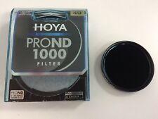 Genuine HOYA Pro ND1000 Filter 49mm 10 stops ND 1000 lens filter