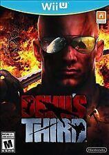 NEW Devil's Third (Nintendo Wii U, 2015)