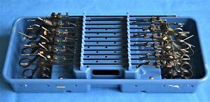Karl Storz ClickLine Laparoscopic Instrument Set