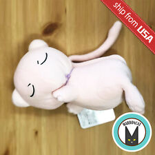 Japan Pokemon Pocket Monster Suyasuya Sleeping Mew Plush Mochi Soft Doll Cushion