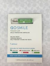 NEW GO Smile Touch Up 1 Ampoule in Green Apple 0.02 fl oz Teeth Whitening