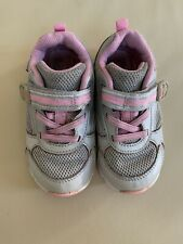 Stride Rite Made 2 Play toddler girl sneakers shoes size 7.5 XW