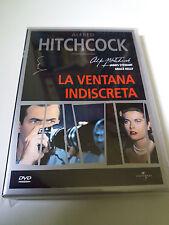 "DVD ""LA VENTANA INDISCRETA"" COMO NUEVO ALFRED HITCHCOCK JAMES STEWART GRACE KELL"