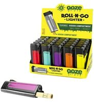 Ooze Roll-N-Go Refillable Lighter Hidden Smell Proof Stash Compartment