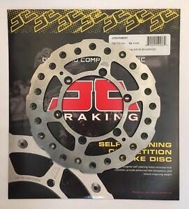 Kawasaki KX250 (1991 to 2002) JT Brakes Self Cleaning 220mm REAR Wavy Brake Disc