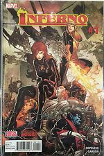 Inferno #1 NM- 1st Print Free UK P&P Marvel Comics Secret Wars 2015