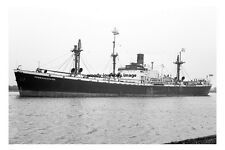 mc3650 - Glen Line Cargo Ship - Pembrokeshire - photo 6x4