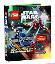 Fachbuch LEGO® Star Wars™, Buch und Steine-Set für 8 einmalige Modelle, NEU