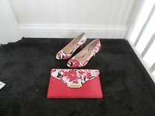Occasion LOTUS size 6 shoes and matching handbag