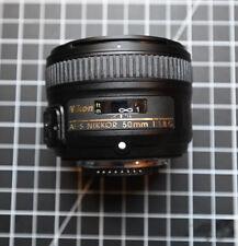 Nikon Nikkor AF-S 50 mm f/1.8 G Lens