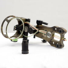Camo Micro Adjust Lighted Sight .019 5 Pin Compound Bow LS4