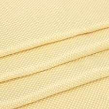 200gsm Kevlar Fabric Woven Aramid Fiber Cloth Plain 100cm/39.4'' Width Yellow