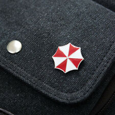 US SHIP Resident Evil Umbrella Corporation Badge Brooch Pin Cosplay Metal Badge