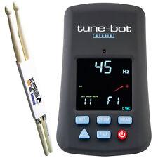 Tune-Bot Studio Schlagzeug Stimmgerät + Drumsticks