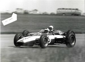 SCIROCCO BRM TONY SETTEMBER GREGORY  BRITISH GP SILVERSTONE 1963  F1 PHOTOGRAPH