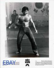 Jeff Speakman barechested kung fu VINTAGE Photo The Perfect Weapon