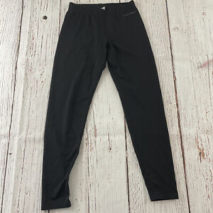Hot Chillys Base Layer Ski Pants Women's M Solid Black