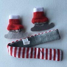 Elf on the Shelf 2014 Winter Set Skates & Scarf NEW W/O PACKAGING DOLL CLOTHES