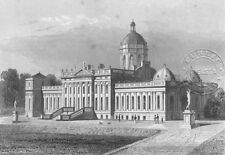 CASTLE HOWARD. Earl Carlisle. Yorkshire. DUGDALE c1840 old antique print