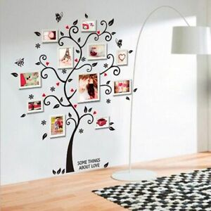 3D DIY Photo Tree Wall Sticker Removable PVC Adhesive Mural Art Home Decor Vinyl