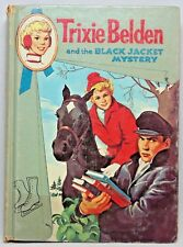 Trixie Belden and the BLACK JACKET MYSTERY #8 Cameo Edition 1961
