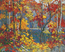 Tom Thomson- The Pool- Giclee Canvas Gallery Wrapped- 38 x 47