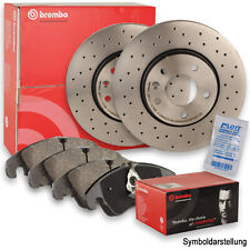Brembo Sport Bremsscheiben Ø310mm + Bremsbeläge hinten für VW Golf 7 Audi A3 8V