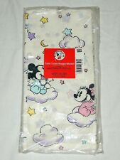 """VINTAGE ~BABY MICKEY & MINNIE ~1- PAPER TABLE COVER 54"""" X 89 1/4"""" PARTY SUPPLIES"""
