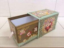 Tokyo Disney Resort Alice in Wonderland Sweet Drawer Box. Very Rare