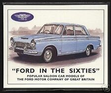 FORD in the Sixties - Collectors CARTA Set - ANGLIA Console CORTINA Corsair