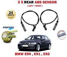 Per BMW 316 318 316 D 320D E90 E91 E92 E93 2005 -- > NUOVO 2 X Posteriore Sensore Abs Set
