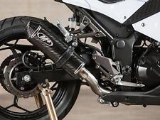 Carbon Fiber Full Exhaust System Muffler M4 KA3024 for 13-17 Kawasaki Ninja 300