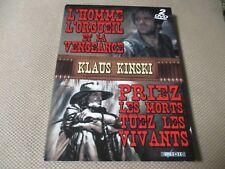 2Dvd L'HOMME ORGUEIL ET LA VENGEANCE / PRIEZ LES MORTS TUEZ VIVANTS Klaus KINSKI