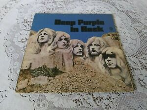 DEEP PURPLE. IN ROCK. GATEFOLD. WARNER BROS. WS 1877. 1971.