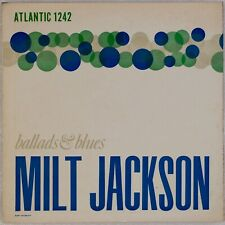 MILT JACKSON: Ballads & Blues US Atlantic 1242 Jazz DG Orig LP Lucky Thompson