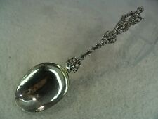 Dutch Mother & Children Solid Silver Figural Table Spoon 1838