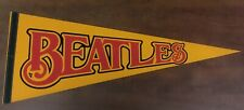 "Beatles 30"" Felt Pennant From the 60's...Very Rare & Vintage...Mint Condition"