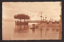 Lake Geneva Boat Ramp--1923 Postcard--France/Switzerland