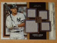 2020 Topps Museum Collection Aaron Judge Quad Relic #/75 New York Yankees