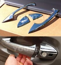 US STOCK Set CHROME Door Handle Trims Mercedes R172 SLK W204 C207 A207 C E Coupe