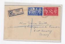 GB :1951 Festival of Britain registered plain FDC