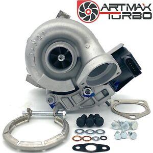 MHI Turbolader inkl. STEUERUNG BMW 318d E90 E91 118d  E87 90KW 122PS Montagesatz