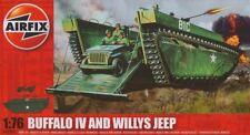 Airfix Buffalo IV and Willys Jeep 1:76 Art. A02302 Panzer und Fahrzeug